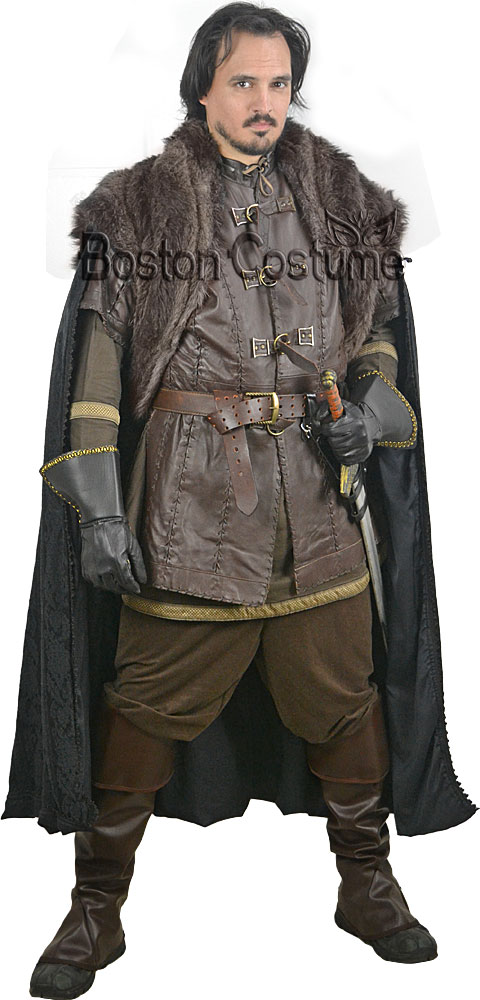 Early Gothic Warrior Rental Costume