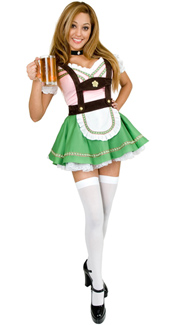 Bavarian Beer Garden Girl Costume