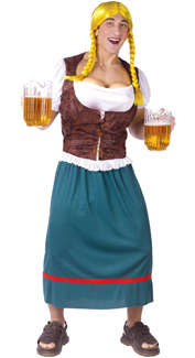 Miss Oktoberbreasts Costume