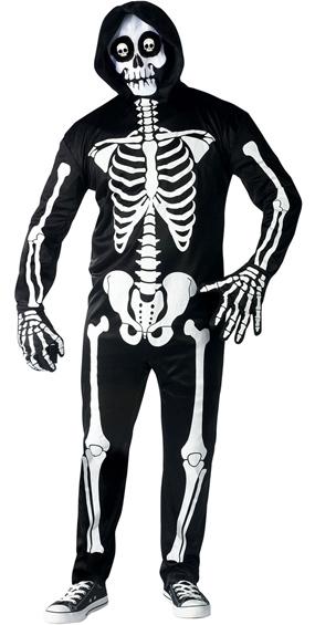 Fright Light Skeleton Costume