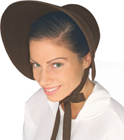 Felt Bonnet in Brown