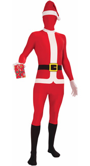 Disappearing Santa Costume