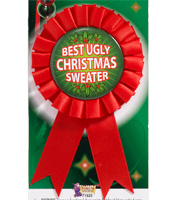 Best Ugly Christmas Sweater ribbon