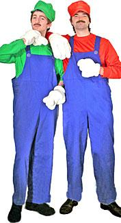 Super Plumber Brothers Costumes