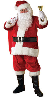 Premier Plush Santa Claus Costume