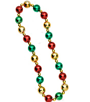Christmas Bead Necklace