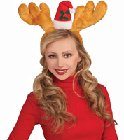 Antlers with Hat Headband