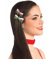 Christmas Bow Hair Clips