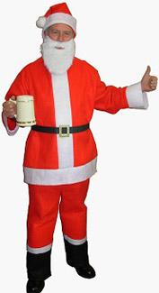 Saloon Spree Santa Costume