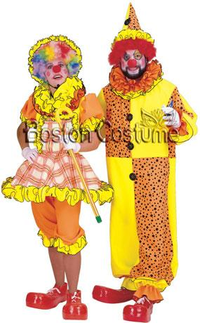 Auguste Clown Couple Costumes