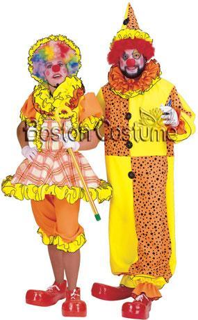 Auguste Clown Couple Costumes