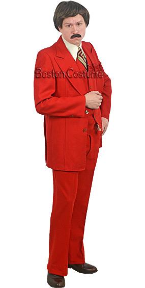 Red Tuxedo Rental Costume