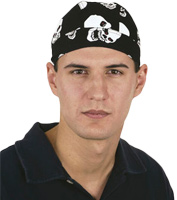 Skull Bandana Hat