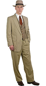 1920's Man Rental Costume