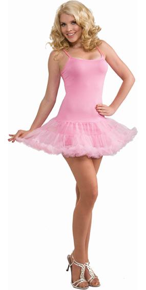 Petticoat Dress in Pink