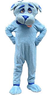 Blue Dog Costume
