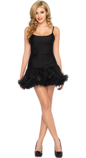 Petticoat Dress in Black