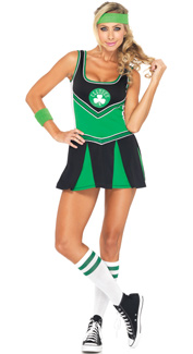 Boston Celtics Cheerleader Costume