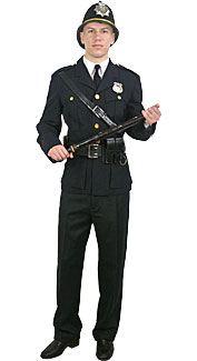 British Police Officer Costume