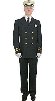 Firefighter Dress Uniform