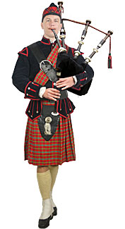Highland Piper Costume
