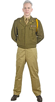 World War II U.S. Army Officer Costume