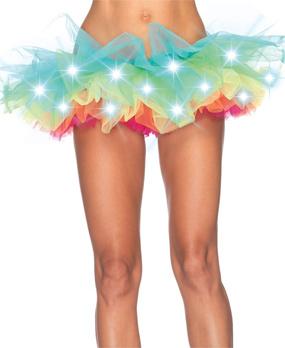 Light-Up Rainbow Tutu
