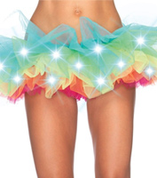 Light-Up Rainbow Tutu