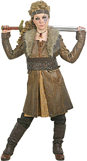 Viking Woman Rental Costume
