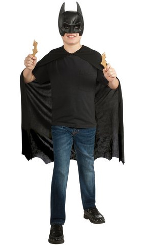 Batman Cape & Headpiece Child-Sized