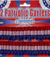 Patriotic Garters