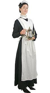 Edwardian Maid Rental Costume