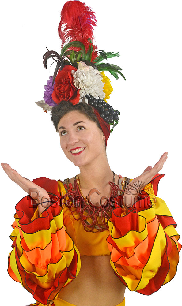 Carmen Miranda Headpiece at Boston Costume