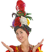 Carmen Miranda Rental Headpiece