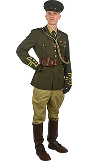 World War I British Officer Rental Costume