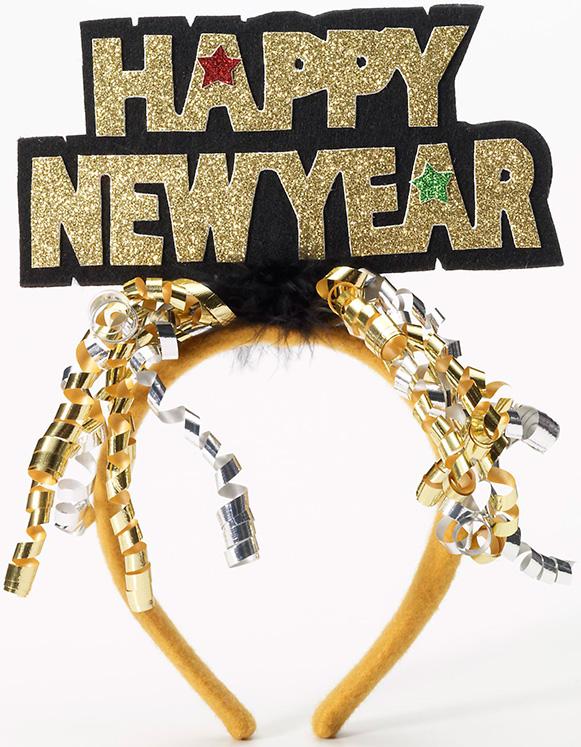 Happy New Year Headband 87