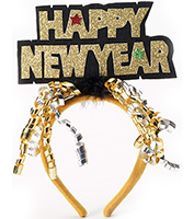 Happy New Year Headband