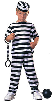 Prisoner Boy Costume