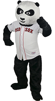 Baseball Panda Bear Costume
