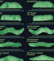 Green Mustache Set
