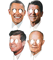 Presidential Mask Set