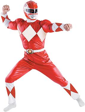 Red Ranger Costume