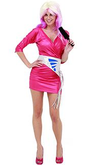 Pink Rocker Costume