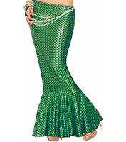 Mermaid Skirt in Green