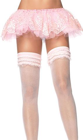 Glitter Filigree Tutu in Pink