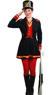 Toy Soldier Lady Costume