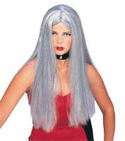 Long Grey Wig