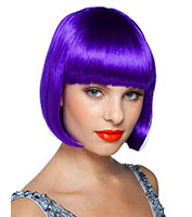 Sassy Wig in Purple