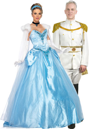 Cinderella and Prince Charming Costumes