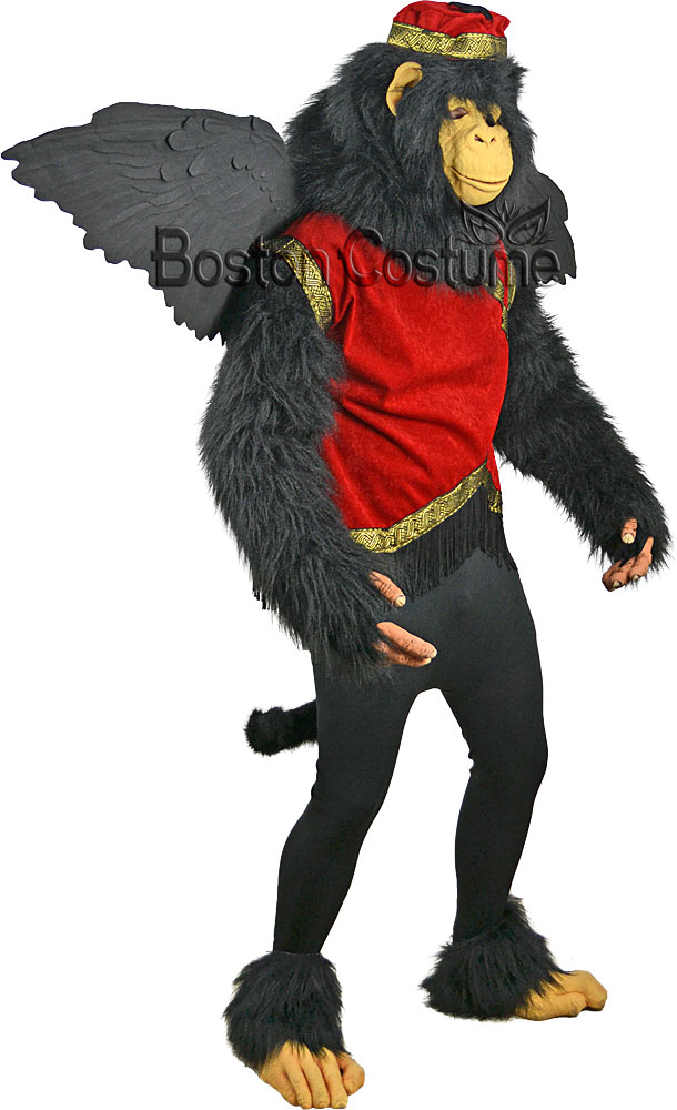 Deluxe Flying Monkey Costume  sc 1 st  Boston Costume : deluxe werewolf costume  - Germanpascual.Com